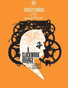 Movie Poster Movement — A Clockwork Orange by Fernando Reza