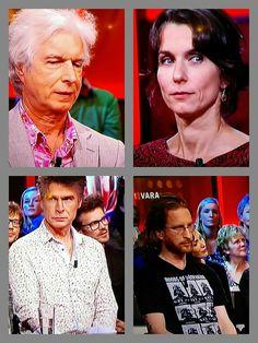 Boudewijn, Caya, Marcel en Jim de Groot.