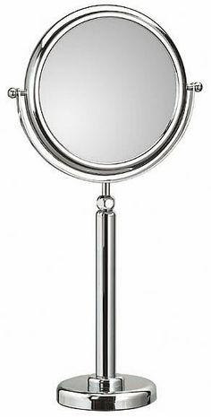 Koh I Noor Doppiolo Reversible 3x Or 6x Telescoping Vanity Makeup Mirrors 746
