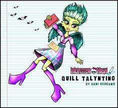 Quill Talyntino by DaniScreamsArt.deviantart.com on @DeviantArt