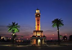 Clock tower IZMIR-TURKEY
