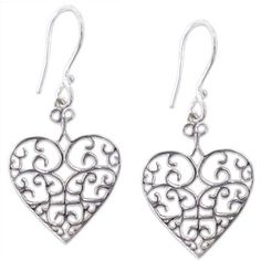 Southern Gates Heart Earrings #jewelry #southerngates