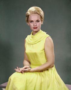 Tippi Hedren in the 1960's