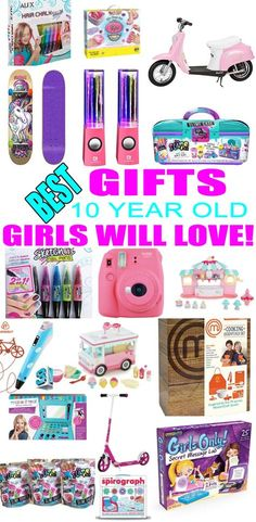 Best Toys For 10 Year Old Girls Diy Christmas GiftsChristmas BirthdayChristmas