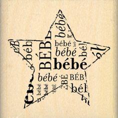 ETOILE BEBE Album, Tampons, Scrapbooking, Stamp, Diy, Bebe, Bedrooms, Childhood, Bricolage
