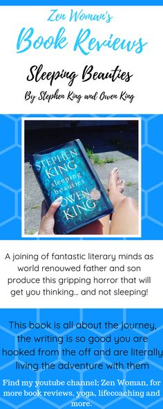 A down to earth, real person review of Stepen and Owen Kings book, sleeping beauties.   #stephenkingbookreview #owenkingbookreview King Book, King A, Book Reviews, Book Recommendations, Good Books, Thinking Of You, Sleeping Beauty, This Book, Earth