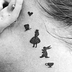 Alice in Wonderland - Disney Tattoo