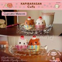 *PRE-ORDER* Kapibarasan Cafe Series ~ Cupcake Squishy