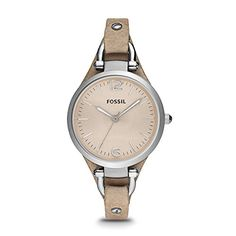 Fossil Women's ES2830 Georgia Stainless Steel Watch with Leather Band https://www.cproducts.com/fossil-womens-es2830-georgia-stainless-steel-watch-with-leather-band