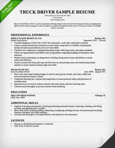 Driver Resume Objective Simple Mardiyono Semair85 On Pinterest