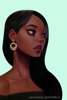 "A new work ""The Woman"" by Mervin Kaunda. #ArtWork #Illustration"