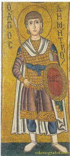 C St Demetrios Hosios Loukas Byzantine Art, Byzantine Mosaics, Varangian Guard, Abbasid Caliphate, Ottonian, Sassanid, 11th Century, Orthodox Icons, Sacred Art