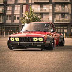 Fiat 128, Custom Trucks, Custom Cars, Drift Truck, Nissan Trucks, Aussie Muscle Cars, Vintage Pickup Trucks, Custom Muscle Cars, Burn Out