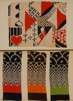 ARDED FABRIC SAMPLES, 1890's-1930's. Mostly printed silk chiffons, crepes and sheers, mounted on 8 x 10 cards.