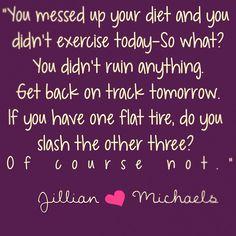 get back on track