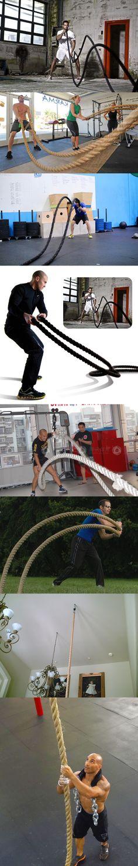 """Aliexpress.com: Comprar Nueva llegada ( 3.8 cm x 12 metro ) 1.5 pies """" x40 """" batalla cuerdas cuerdas eléctricas cuerda entrenamiento de cuerda silla confiables proveedores…"""