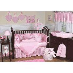 Pink satin #Caredotcom  #RoyalNursery
