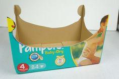 Fabriquer un lit de poupée à partir d'un carton