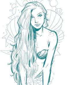 Heute Ariel theelittlemermaid warmup mermaid draw H… – Art Drawing Mermaid Artwork, Mermaid Drawings, Mermaid Tattoos, Mermaid Paintings, Drawings Of Mermaids, Drawing Eyes, Drawing Sketches, Art Drawings, Fantasy Drawings
