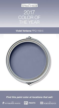 2017 Paint Color of the Year, Violet Verbena! Violet Verbena adapts to surrounding environments and complements a variety of design aesthetics, from playful rooms to tranquil spaces.great for my bathroom! Modern Paint Colors, Interior Paint Colors, Paint Colors For Home, Paint Colours, Diy Interior, Interior Design, Room Colors, Wall Colors, House Colors