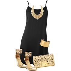 A fashion look from April 2013 featuring Alice + Olivia dresses, BCBGMAXAZRIA sandals and Michael Kors clutches. Browse and shop related looks.