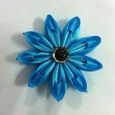DIY flower for hair clip & headband - Satin Ribbon Multilayers Flower Tutorial