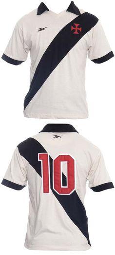 a9e0b409adcc7 Réplica da camisa clássica do Campeonato Sul-Americano de 1948 Vasco da  Gama.