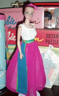 Vintage 1960's Fashion Queen Barbie