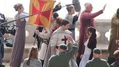First Set Photos of Taron Egerton as Robin Hood!