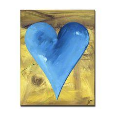 "Ready2HangArt Zane Heartwork ""James""  Canvas Art Set"