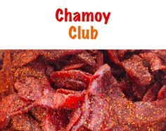 Chili Dried Mango: Absolutely delicious! Made with the highest quality Mango's.  This exotic tropical treat is sweet n' spicy.  Great high energy snack tumbled in tasty chili.