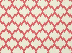 Mulu Trellis Lipstick - Sarawak : Upholstery Fabrics, Prints, Drapes & Wallcoverings