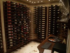 Contemporary Wine Cellar E