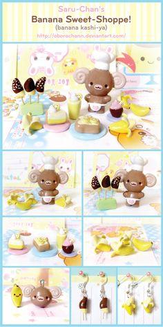 Banana Sweet Shoppe by Oborochann.deviantart.com on @deviantART