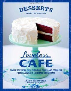 Renowned for its Southern charm and superb comfort food, the Loveless Cafe in Nashville,Tennessee, serves some of the best desserts below the Mason-Dixon line.  Full-color photos showing the delicious confections will help anyone who can't travel to Nashville or wait two hours for a table at this popular restaurant enjoy a taste of the Loveless at home.