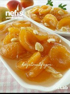 Nefiss Apricot Jam - yemek for beginners juice Jam Recipes, Fruit Recipes, Pork Recipes, Snack Recipes, Juice Recipes, Yummy Recipes, Paleo Side Dishes, Side Dish Recipes, Turkish Recipes