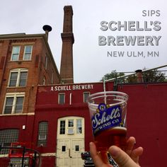 Grab a taste of Germany at Schell's Brewery in New Ulm, MN!