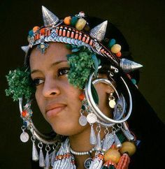 jeune fille berbere - Maroc du sud
