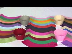cupcake wrappers in every color!