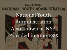 The National Youth Administration was apart of the 100 day programs. Free Presentation Software, Mary Mcleod Bethune, Jobs For Teens, Great Depression, Arithmetic, Haiku, We The People, Social Studies, Youth