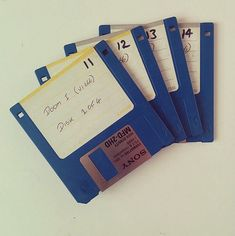 Who remembers the days of saving information on floppy disks.