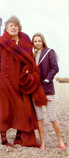 The Leisure Hive ~ Fourth Doctor (Tom Baker) and Romana II (Lalla Ward)