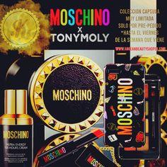 Ultra-exclusiva colección cápsula de cosméticos de Moschino para Tony Moly. Solo disponible a través de precedido en www.koreanbeautyshopeu.com  ¡Por tiempo limitado!