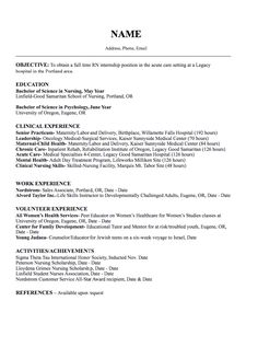 oncology nurse resume sample httpexampleresumecvorgoncology nurse