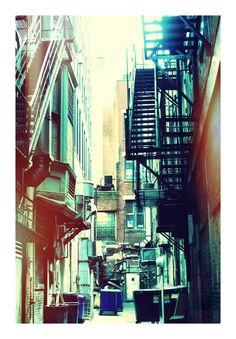 Downtown Alley - Boston