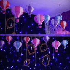 Hot Air Balloon Lampshade Paper Wishing Lantern Wedding Party Decoration