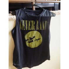Neverland Peter Pan Nirvana Tank From Hot Topic, fits small. Wore it a few times. Hot Topic Tops Muscle Tees
