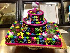 20 Top Neon Hello Kitty Images Hello Kitty Birthday Kitty Party