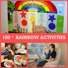 100 wise ways to teach your kids about eating the rainbow from @The Educators' Spin On It! #SmartMarch