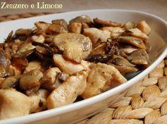 Questi bocconcini di pollo ai funghi sono un secondo davvero molto facile da preparare, ma delicato, appetitoso e per niente banale.